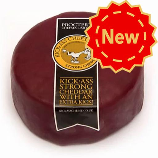 Kick Ass Cheddar with Rioja and Caramelised Red Onion