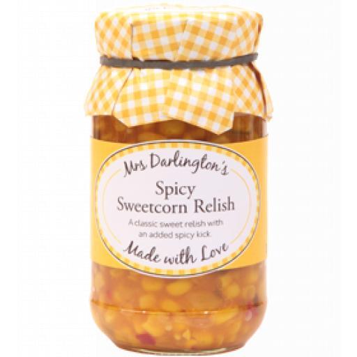 Mrs Darlington's Spicy Sweetcorn Relish 300g