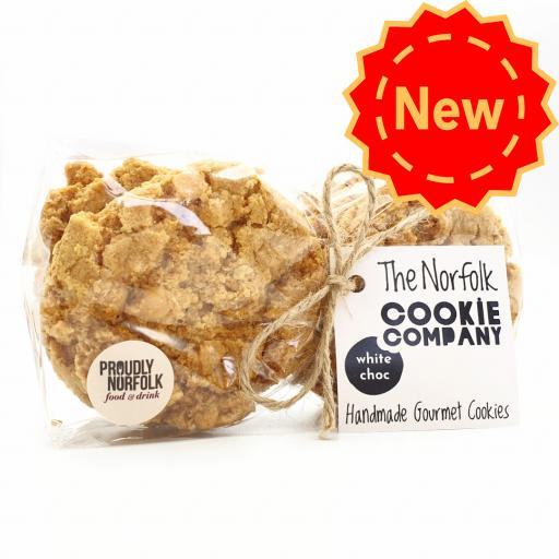 Norfolk Cookie Company - White ChocCookies
