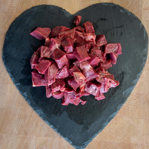 1lb Diced Ox Heart