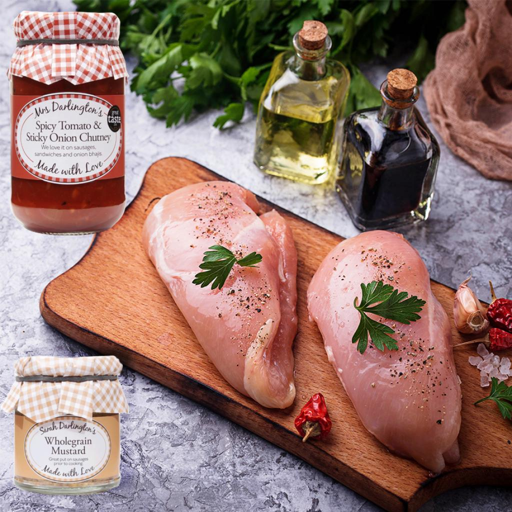 Recipe of the Month - Mrs Darlington's Tomato and Sticky Onion Chicken