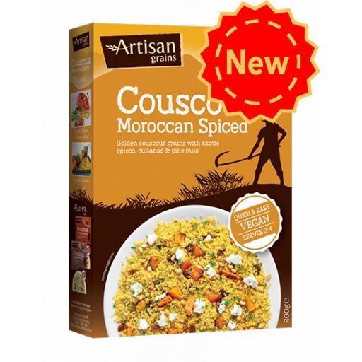 Artisan Grains Moroccan Spiced Cous Cous 200g