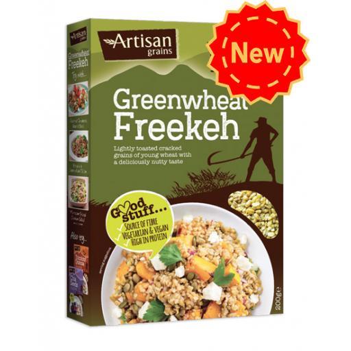 Artisan Grains Greenwheat Freekeh 200g
