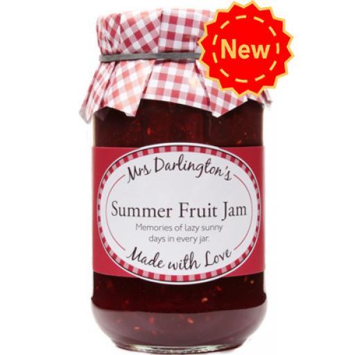 Mrs Darlington's Summer Fruit Jam 340g