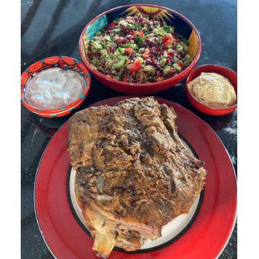 Lamb Marinaded in Ras El Hanout Special Offer