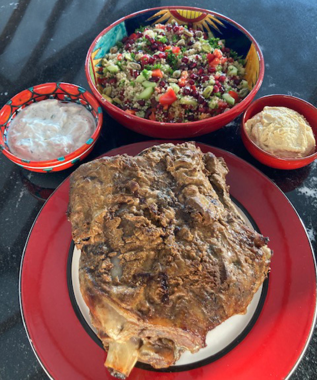 Recipe of the Month - Lamb Marinaded in Ras El Hanout