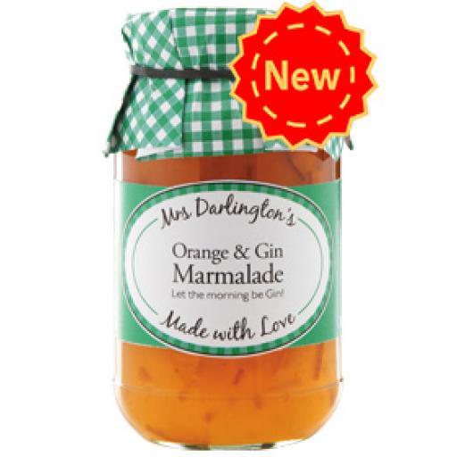 Mrs Darlington's Orange & Gin Marmalade 340g