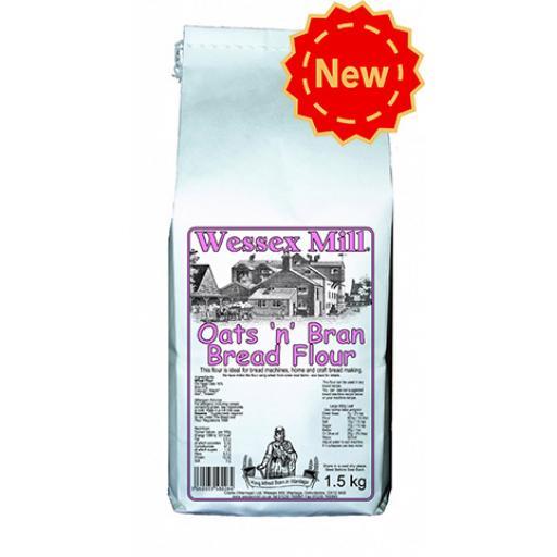Wessex Mill Oats & Bran Bread Flour 1.5kg